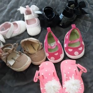 Other - Baby girl shoes 0-3months